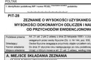 formularz pit-28
